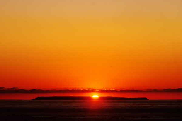 Lundy sunset